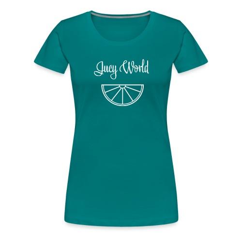 Jucy World - Citrus Design - Frauen Premium T-Shirt