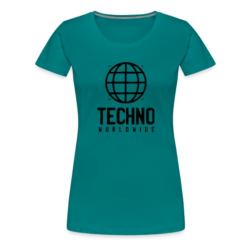 Techno Worldwide - Women's Premium T-Shirt