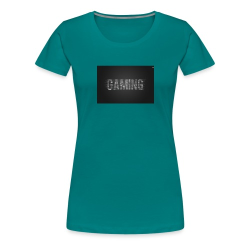 gaming 28646 1680x1050 - Premium-T-shirt dam