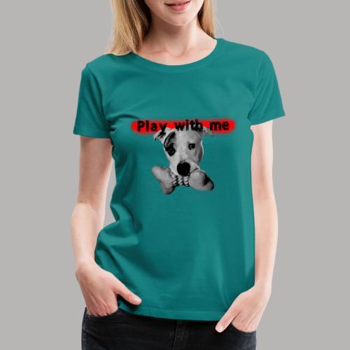 Nice Dog - T-shirt Premium Femme