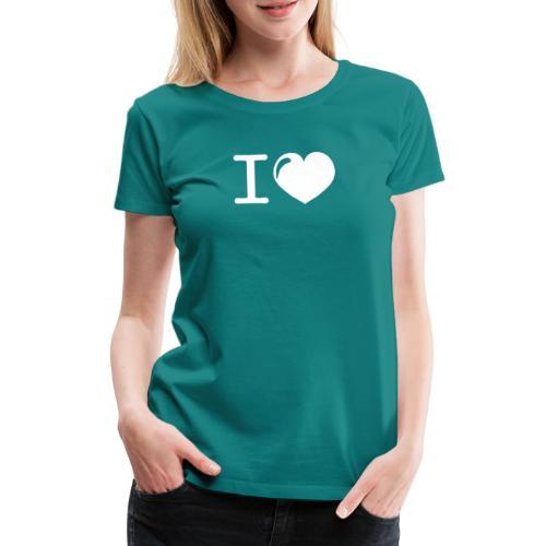 i love heart - Vrouwen Premium T-shirt