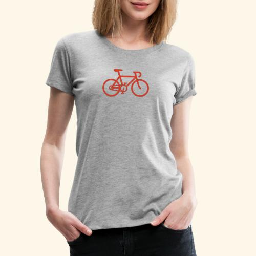Rennrad, Race-Bike, Fahrrad - Frauen Premium T-Shirt