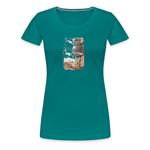 Musik - Frauen Premium T-Shirt