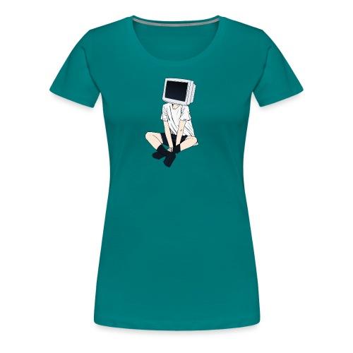 Monitor Head 3 - Women's Premium T-Shirt