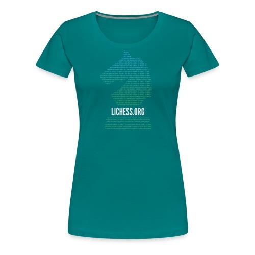 Binary Knight - Women's Premium T-Shirt