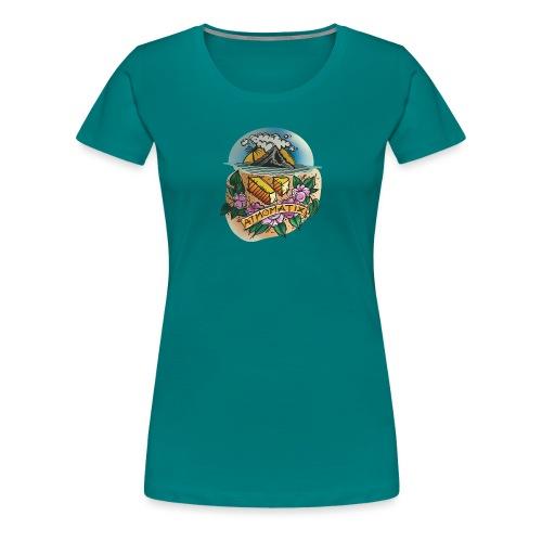 Isle of Atmomatix T-shirt - Women's Premium T-Shirt