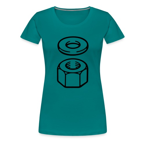 Nut and washer - Women's Premium T-Shirt