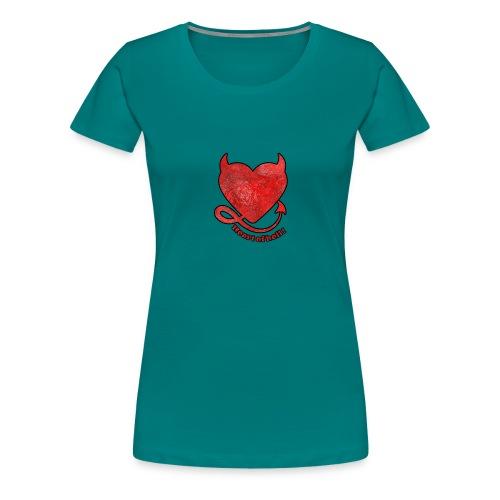 HEART OF HELL! - T-shirt Premium Femme