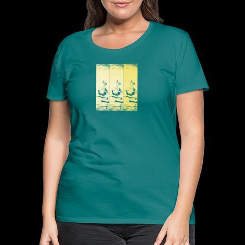 hotei - utagawa kuniyoshi - Frauen Premium T-Shirt