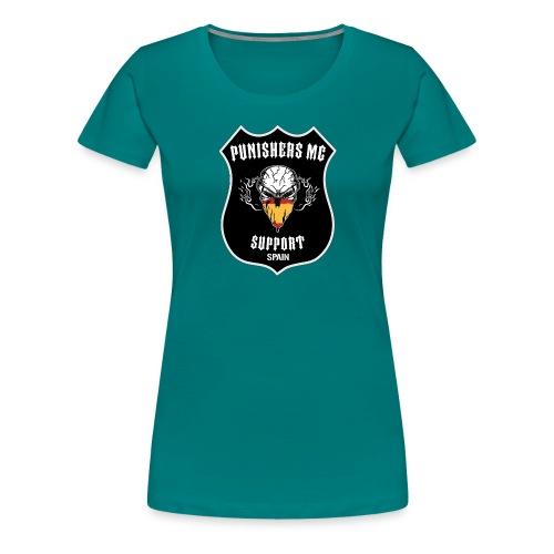punishers support - Camiseta premium mujer