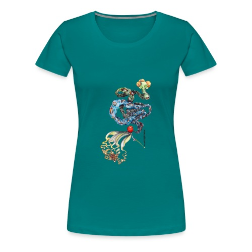 Worm up - Frauen Premium T-Shirt