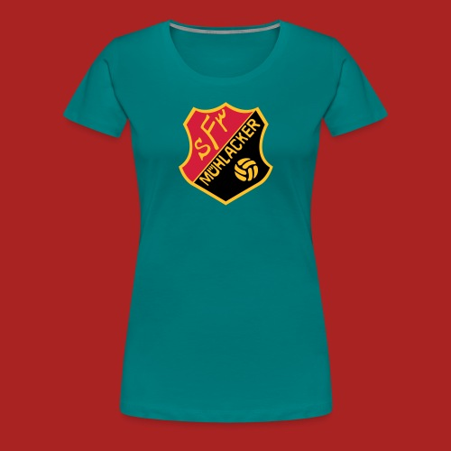 wappen sportfreunde muehlacker 1 - Frauen Premium T-Shirt