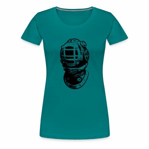 old diving helmet - Women's Premium T-Shirt