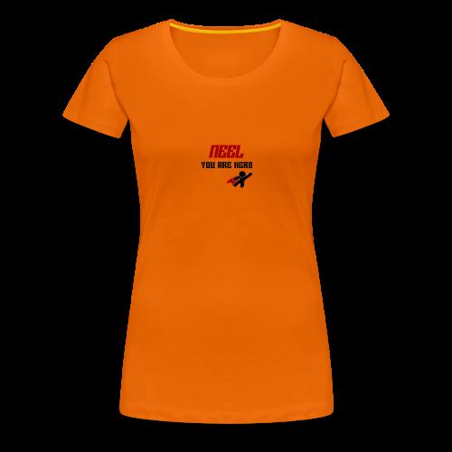 NEEL You Are Hero - Koszulka damska Premium