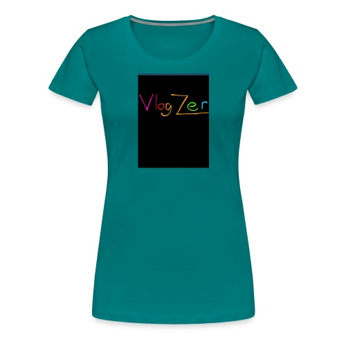 Womens V neck black New - Women's Premium T-Shirt