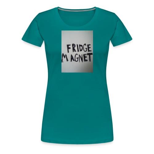 Fridge magnet - Women's Premium T-Shirt