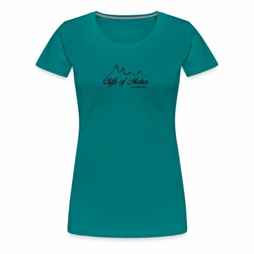 Wild Atlantic Way - The Cliffs of Moher - Women's Premium T-Shirt