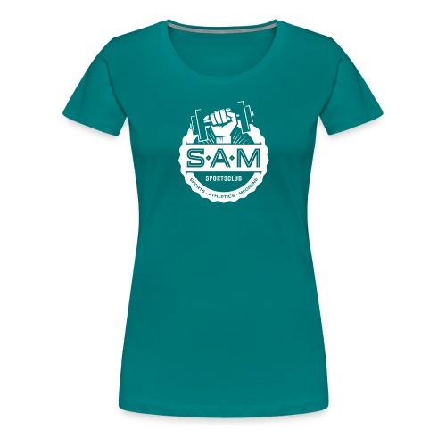 SamSportsclub Logo rund - Frauen Premium T-Shirt