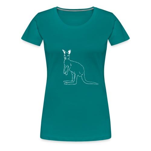 Känguru - Frauen Premium T-Shirt