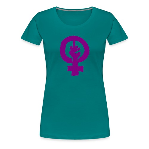 feminismo - Camiseta premium mujer