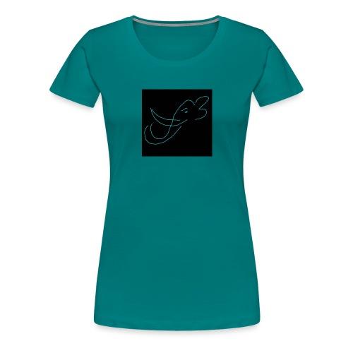 Éléphant - T-shirt Premium Femme