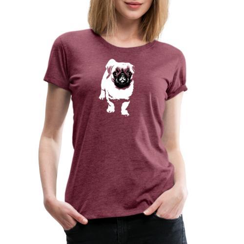 Mops Hund Hunde Möpse Geschenk - Frauen Premium T-Shirt