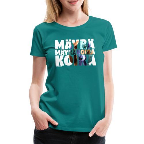 NASSU Mäyräkoira PK - Naisten premium t-paita