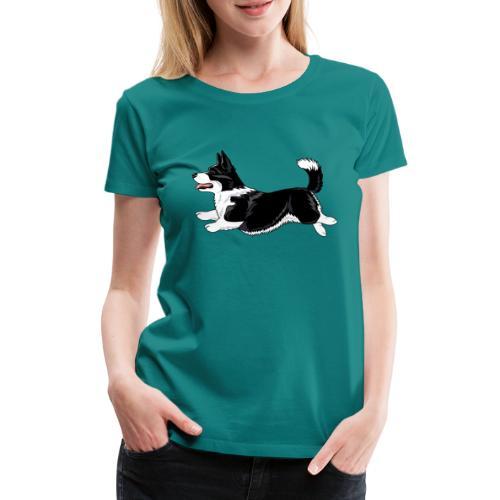 Welshcorgi - Naisten premium t-paita