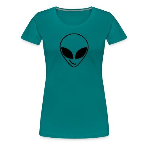 Alien simple Mask - Women's Premium T-Shirt
