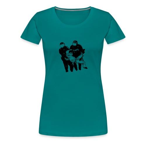 ABUSO POLICIAL - Camiseta premium mujer