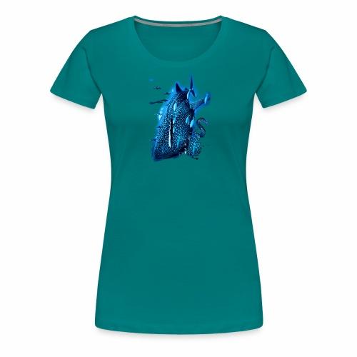 Piel ballena / Whale skin - Camiseta premium mujer