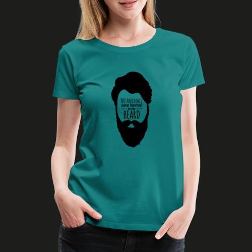 Animalfriendly Beard - Frauen Premium T-Shirt