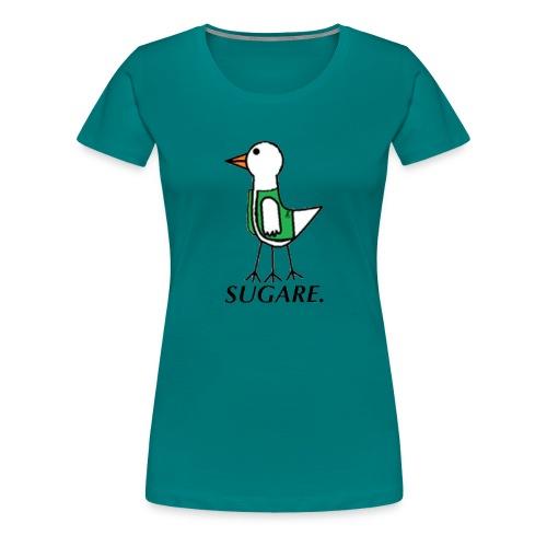 SUGARE. lippis - Naisten premium t-paita