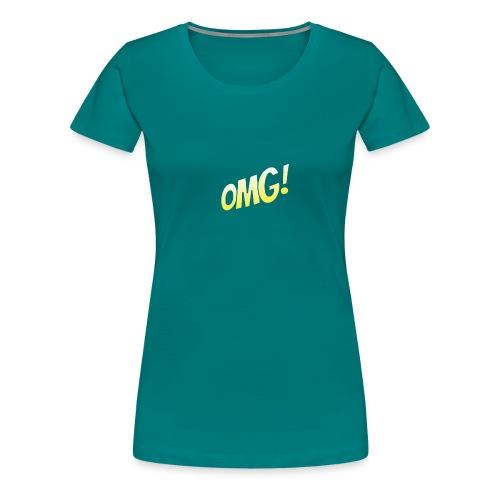 omg - T-shirt Premium Femme
