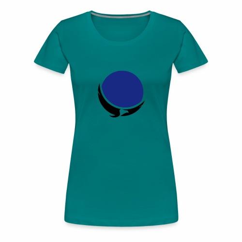 eagle blue - Women's Premium T-Shirt