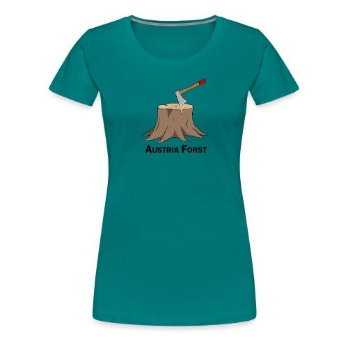 Baumstumpf - Frauen Premium T-Shirt