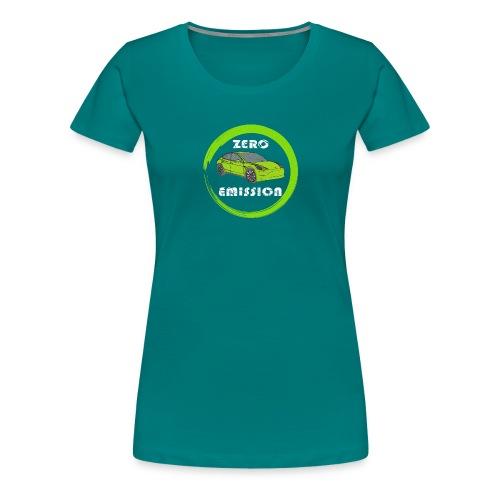 Elektroauto Elektromobilität E-Auto - Frauen Premium T-Shirt