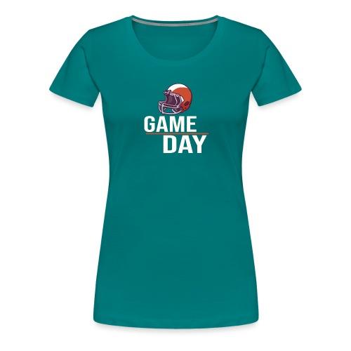 American Football - Game Day - Frauen Premium T-Shirt