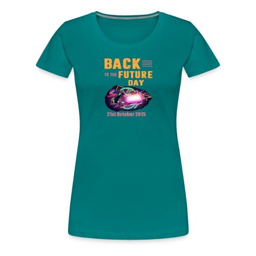 Zurück in die Zukunft - Frauen Premium T-Shirt