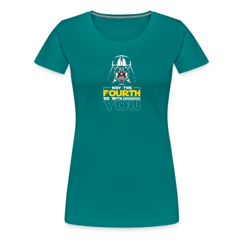 May the fourth be with you - Frauen Premium T-Shirt