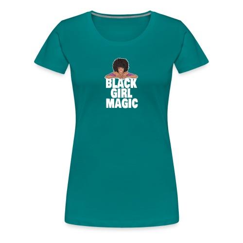 afro black gir magic - Women's Premium T-Shirt