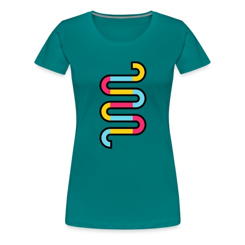 Die DNA deines Unternehmens - Frauen Premium T-Shirt