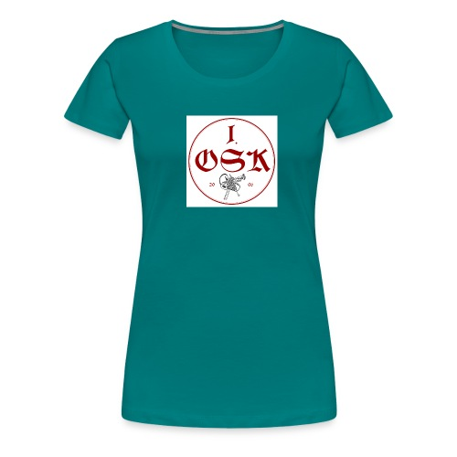 osk logo neu - Frauen Premium T-Shirt