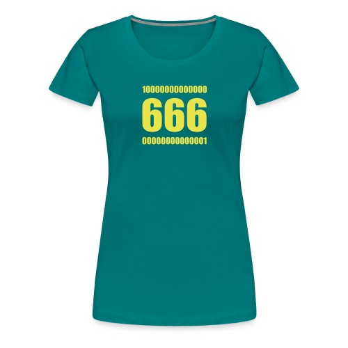 Nerdy Design Belphegor's Prime, 3-zeilig - Frauen Premium T-Shirt