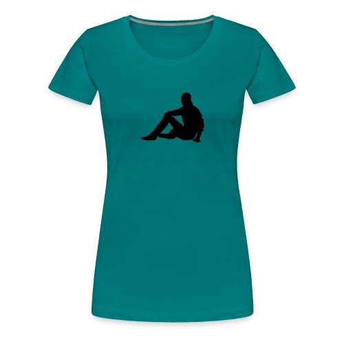 silhouette 3049706 480 - Frauen Premium T-Shirt