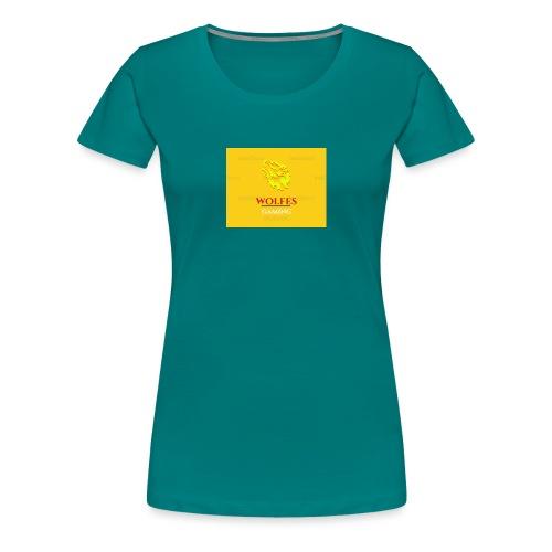 wolfes - Dame premium T-shirt