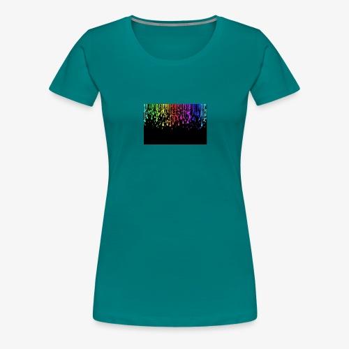 Water drops cool effect - Women's Premium T-Shirt