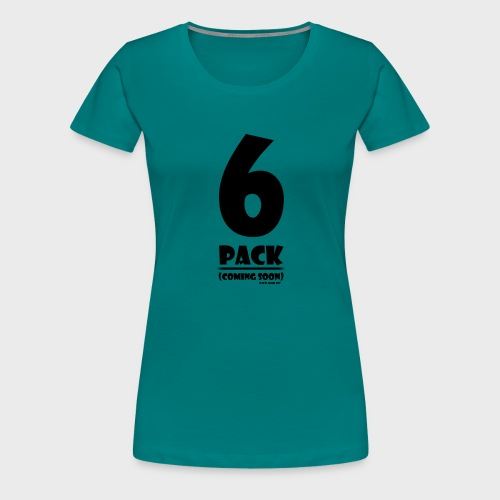 6 Pack - Frauen Premium T-Shirt