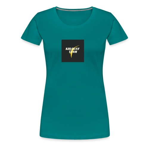 KIILGUAY - Camiseta premium mujer