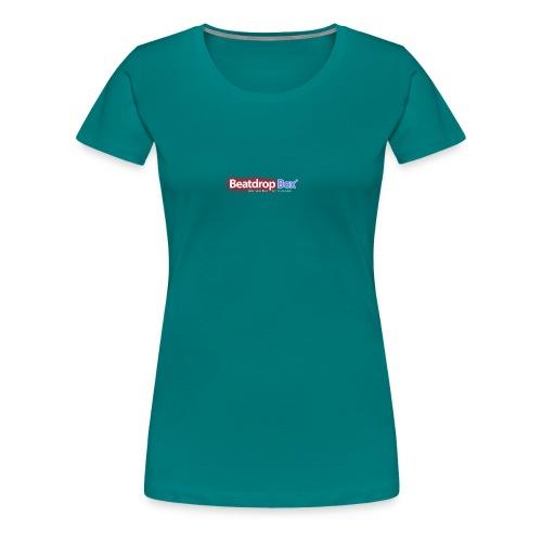 beatdropbox logo final and hires - Vrouwen Premium T-shirt